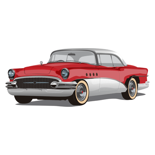 Glossy vintage chevrolet car Transparent PNG