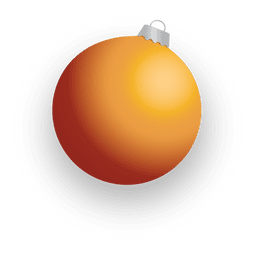 Golden 3d christmas bauble