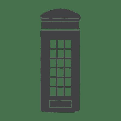 Cabina telefónica de gran bretaña Transparent PNG