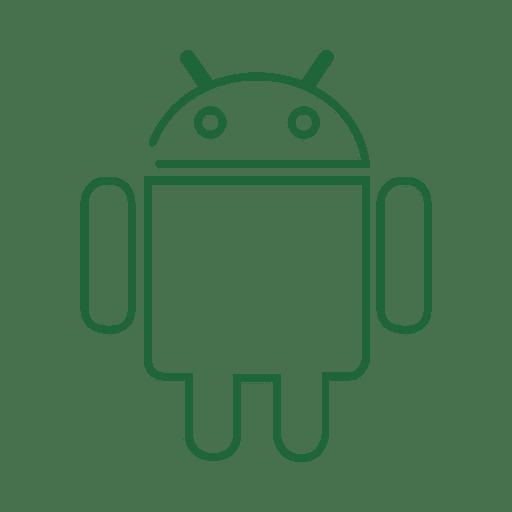Línea verde android icon.svg