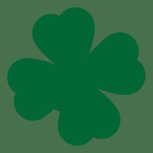 Green clover leaf Transparent PNG