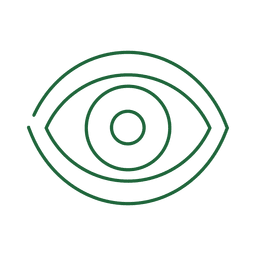 Green eye line icon.svg