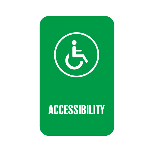 Etiqueta de accesibilidad