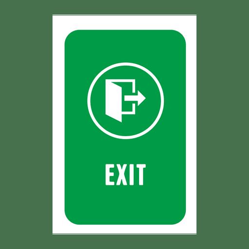 Etiqueta de salida