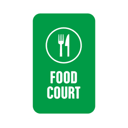 Green food service tag