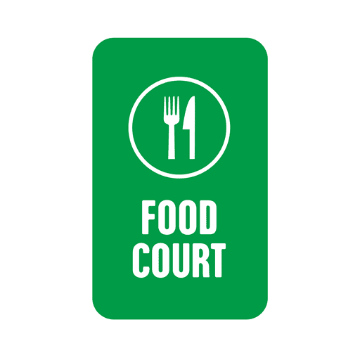 Green food service tag