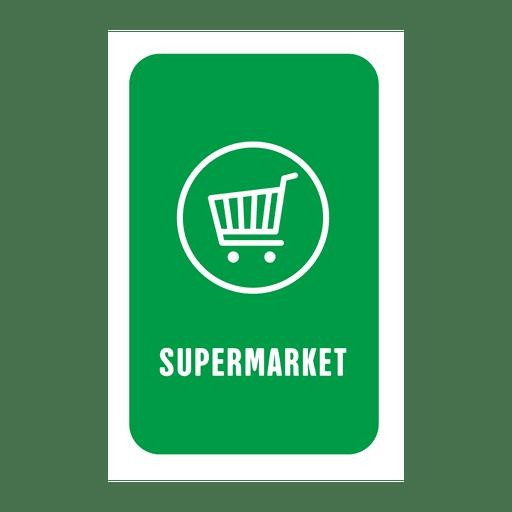 Etiqueta de supermercado