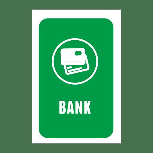Etiqueta bancaria
