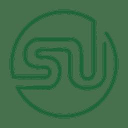 Linha de mídia social verde icon3.svg