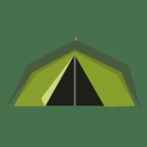 Ícone de tenda verde Transparent PNG