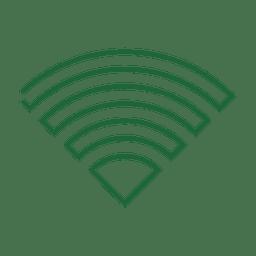 Línea wifi verde icon4.svg