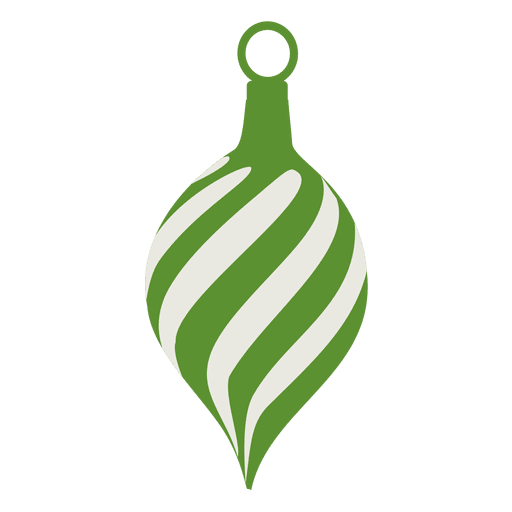 Green xmas ball icon Transparent PNG