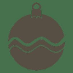 Ícone plana de bugiganga cinza