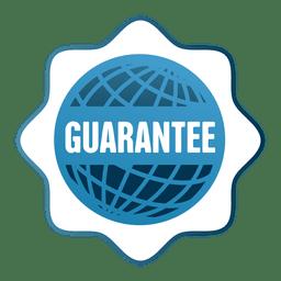 Garantie Globus Verkauf Abzeichen