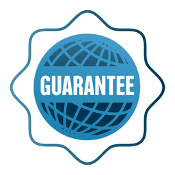 Guarantee globe sale badge