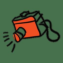 Mão desenhada bioscope