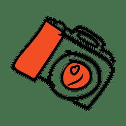 Handgezeichnete Kamera-Symbol