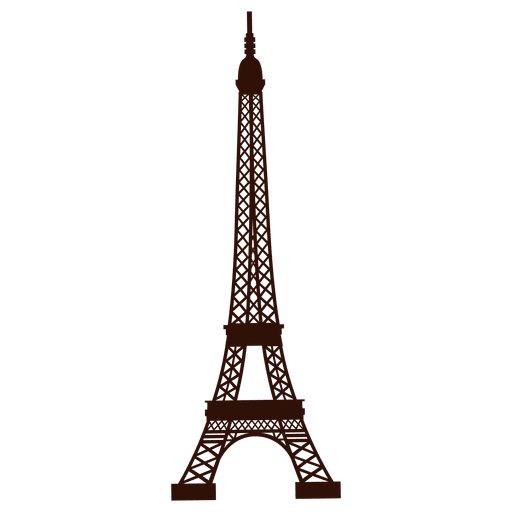 Hand drawn eiffel tower Transparent PNG