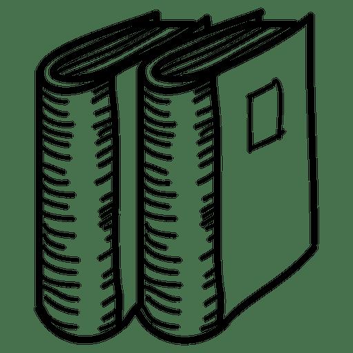 Icono de carpeta dibujada a mano Transparent PNG
