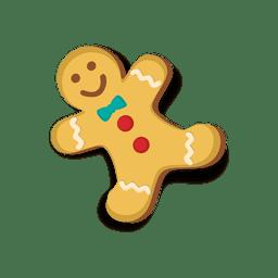 Galleta feliz hombre de jengibre