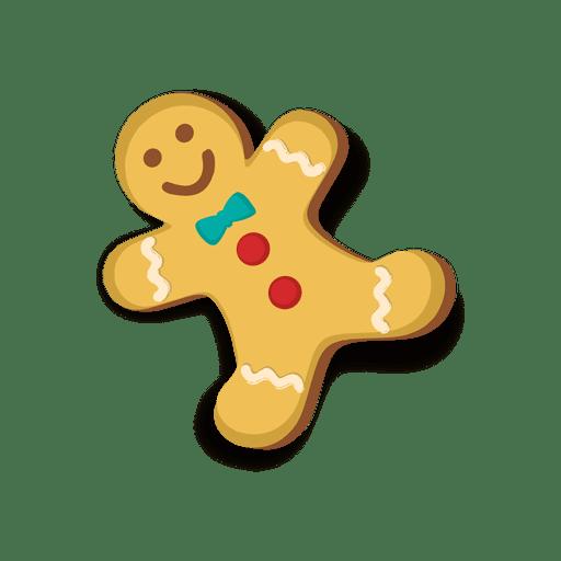 Galleta del hombre de pan de jengibre feliz descargar for Hombre de jengibre