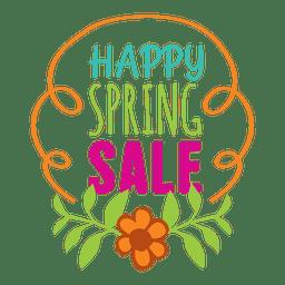 Fröhliches Angebot für Frühlingsangebote