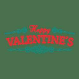 Happy Valentines Abzeichen