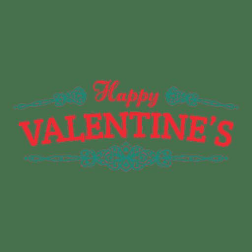 Feliz dia de san valentin Transparent PNG