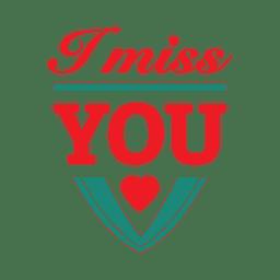Etiqueta de San Valentín de tipografía de corazón