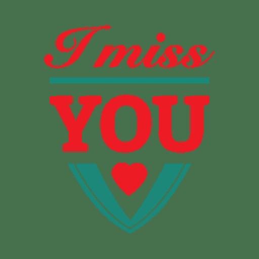 Heart typography valentine label