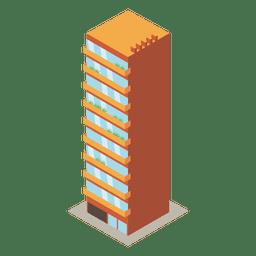 Edifício de torre alta