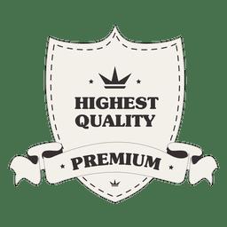 Escudo de escudo de la más alta calidad.