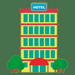Icono de viaje holtel