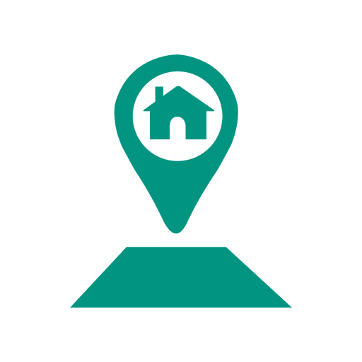 Home location pointer icon Transparent PNG