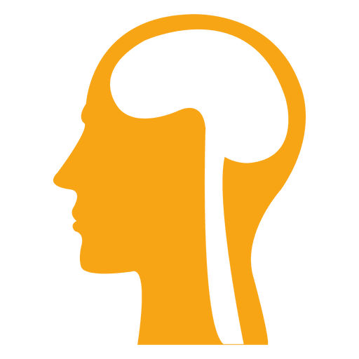 Human brain skull sign Transparent PNG