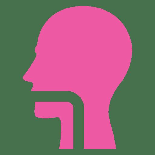 Human mouth flat sign Transparent PNG