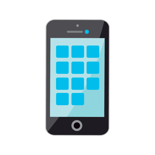 iphone icono plana descargar png svg transparente. Black Bedroom Furniture Sets. Home Design Ideas