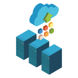 Isometric cloud computing servers