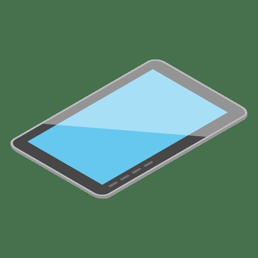 Dispositivo de tableta isométrica