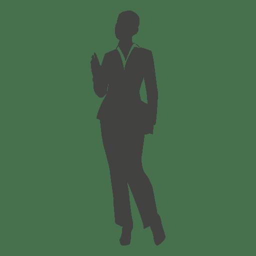 Senhora executivo de negócios carregando arquivos Transparent PNG