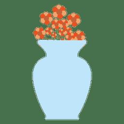 Grande banheira flor azul
