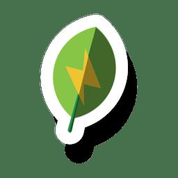 Leaf energy sticker.svg