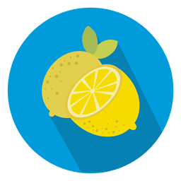 Lemon circle icon