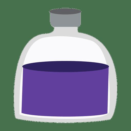 Frasco de medicina lequid Transparent PNG