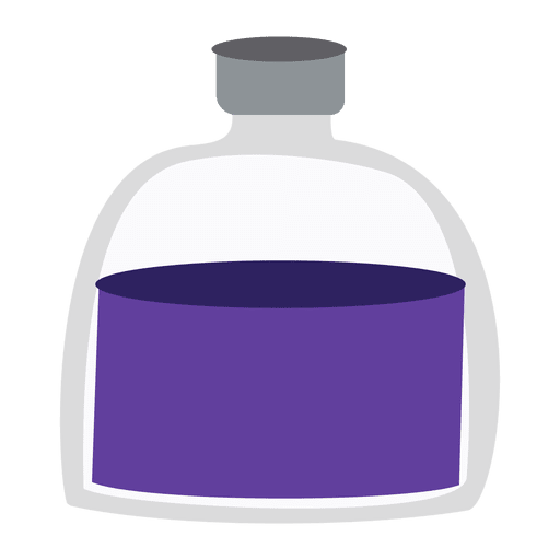 Lequid medicine bottle Transparent PNG