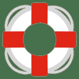 Lebensretter-Reise-Symbol