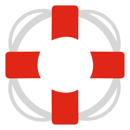 Lifesaver travel icon