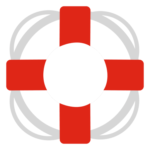 Lifesaver travel icon