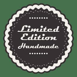 Emblema estrelado vintage de edição limitada