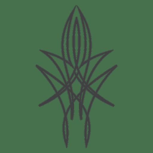 Linie Kunst Nadelstreifen Tattoo Transparent PNG